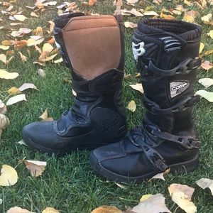COPY - Fox riding company boots black size 8Y used